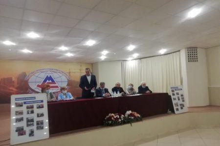 Отчетно выборное собрание Совета ветеранов АО МС1